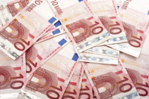 Euro forintra átváltásának a könyvelése.