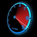 Forgási sebesség kiszámítása mutatók segítségével.